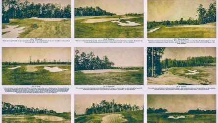 Augusta National as seen in recently-restored photos from the 1930s