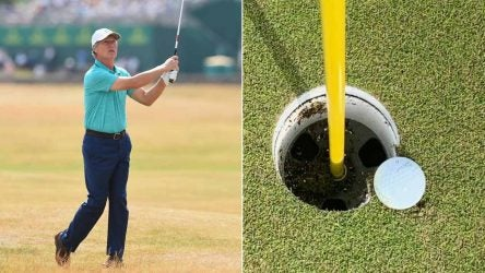 Brandel Chamblee just missed out on a hole-in-one Tuesday at PGA Tour Champions Q-School