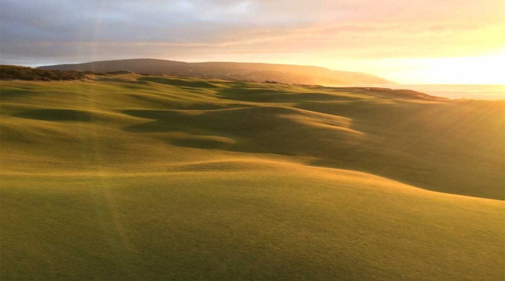 A look at the rolling fairways at Cabot Links.