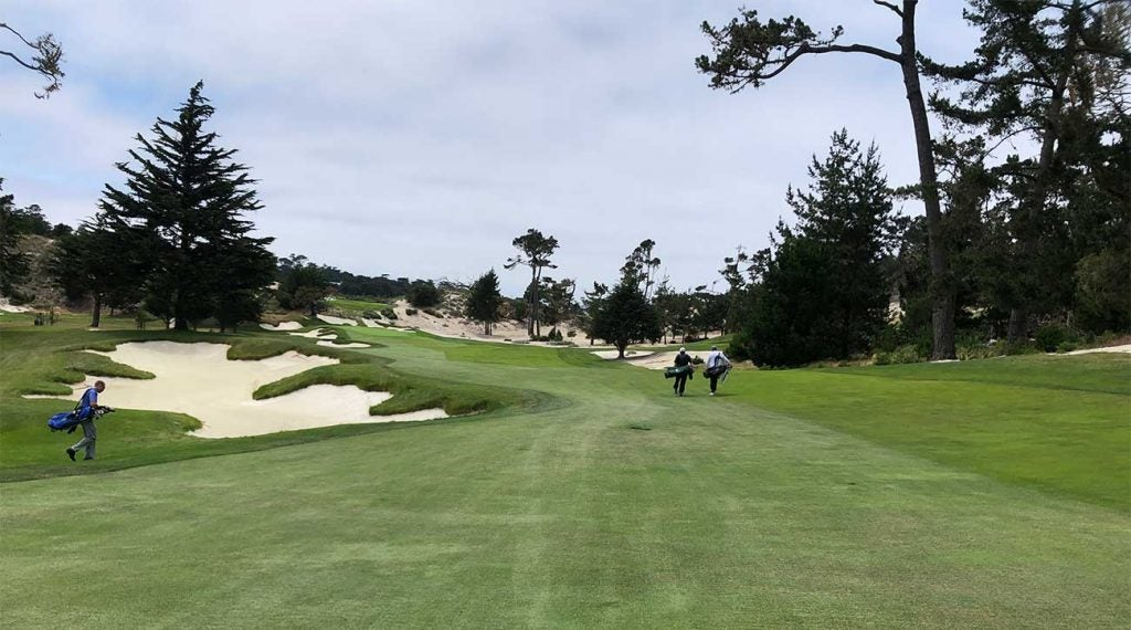 A view of Cypress Point Club in Pebble Beach, Calif.