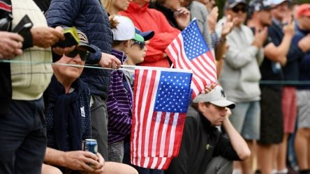 U.S. fans at the 2019 Presidents Cup