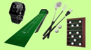 Dick's Sporting Goods has a wide selection of golf gifts for any price range.