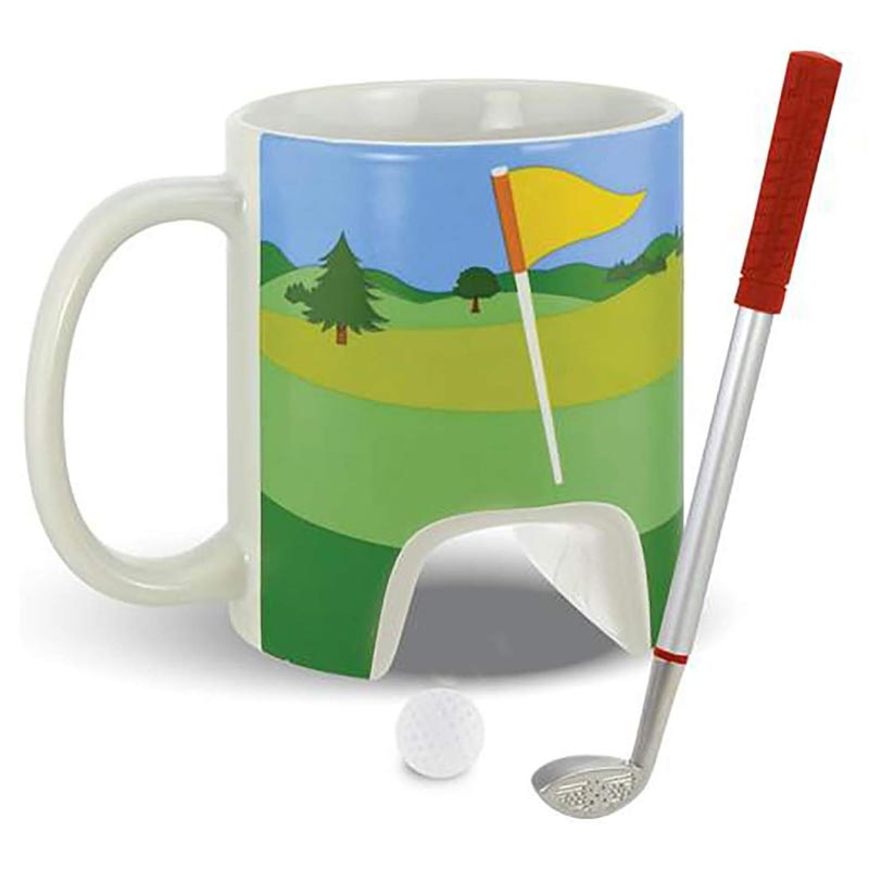 Golf Mug and Putter Pen.