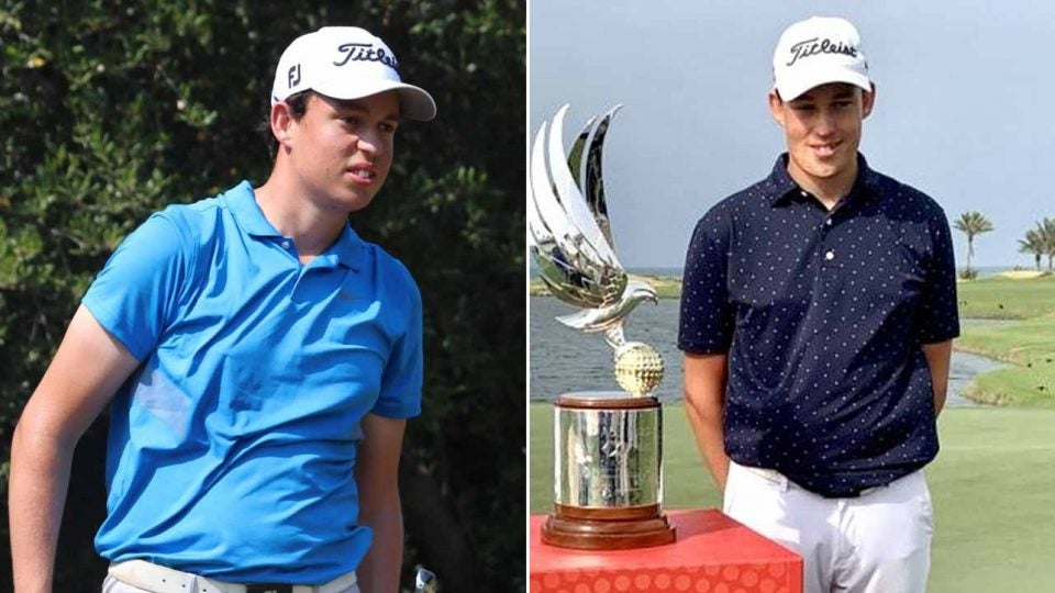 15-year-old Josh Hill will play in two European Tour events in January.