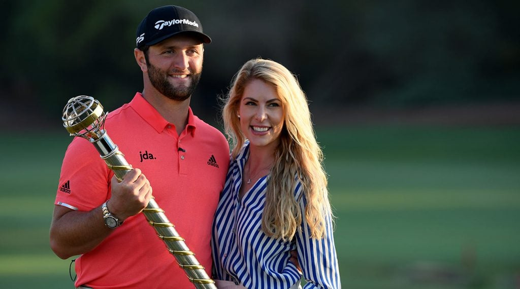 Jon Rahm has a bigger event after the Hero — his wedding to Kelley Cahill