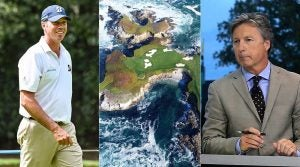 Matt Kuchar, Cypress Point and Brandel Chamblee