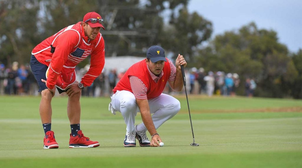 It was an eventful week for Patrick Reed and caddie Kessler Karain at the Presidents Cup.