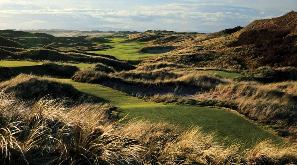 A stunning vista at Royal Portrush.