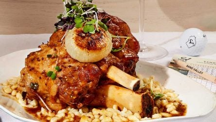 Sand Valley's pork shank is no joke. Here's how you can make it.