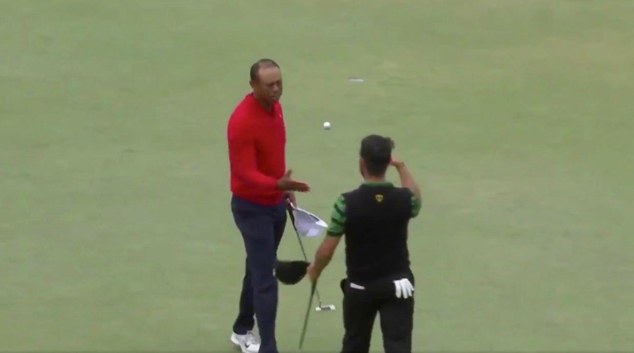Genius video edit makes Tiger Woods' epic Presidents Cup putt better still