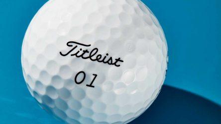 Titleist's new EXP-01 golf ball