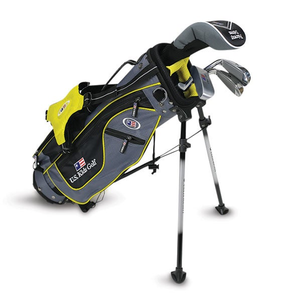 U.S. Kids golf clubs bag.