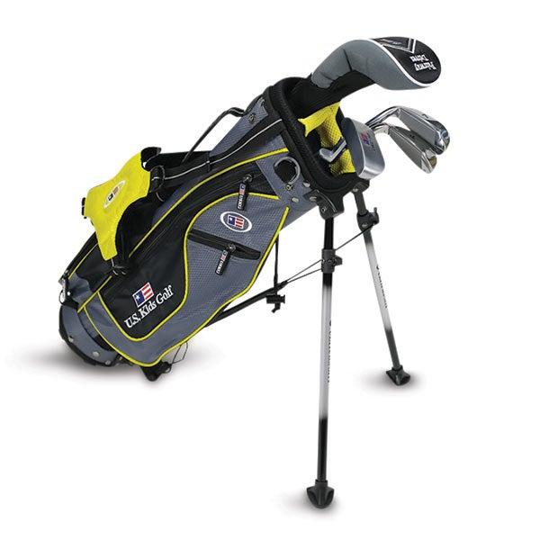 U.S. Kids golf clubs bag.