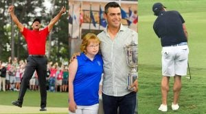 From Tiger's historic Masters win to Amy Bockerstette's inspirational moment to Phil's calves, there were plenty of viral moments in 2019.