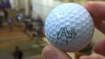 The Hi-Fly AI golf ball from Lynx Golf