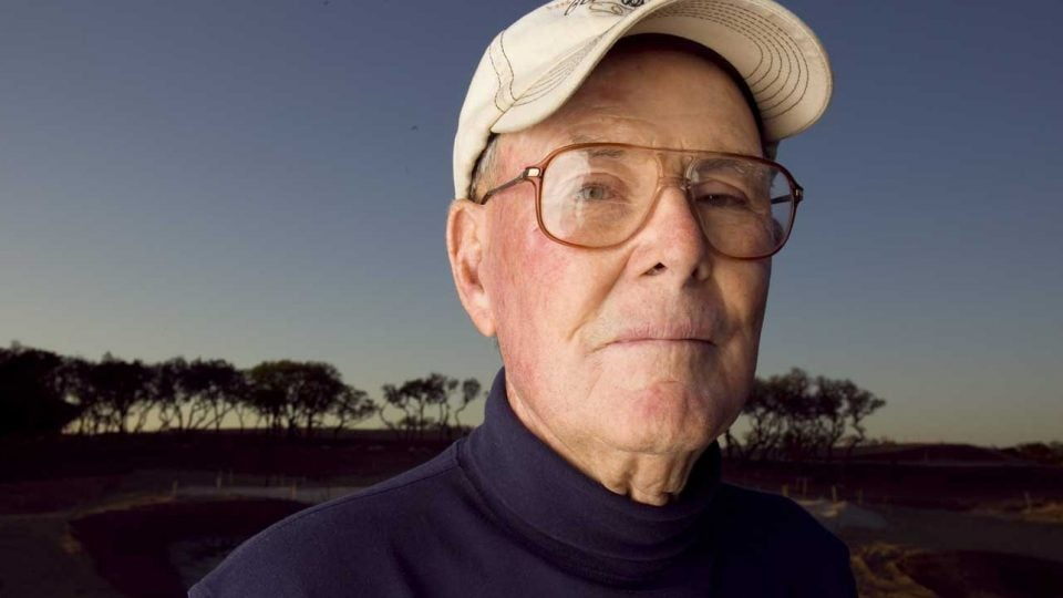 """Even at 94, Pete Dye never got old. """"He loved to joke,"""" Rees Jones said. """"He loved to tweak you. He loved to make you think."""""""