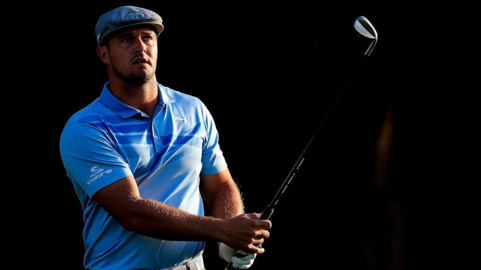 Bryson DeChambeau is using Artisan wedges in Dubai.