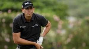 Brendan Steele holds a three-stroke lead heading to Sunday at the Sony Open.