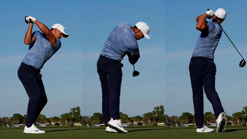Brooks Koepka is one of the most powerful players on Tour because of his strong rotational movement.