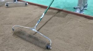 The Bunker Wizard is a new bunker rake