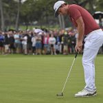 Cameron Smith's putter of choice is a Scotty Cameron TFB 1.5 Teryllium putter.