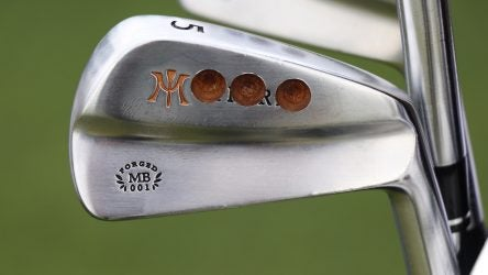 A look at Charl Schwartzel's new irons.