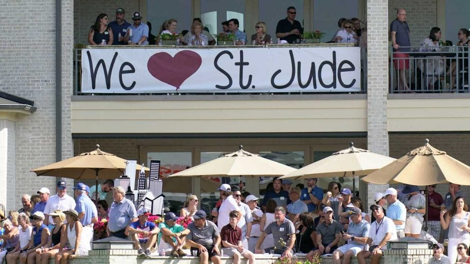 St. Jude Children's Hospital is one of the charities that has been aided by the PGA Tour and its tournaments.