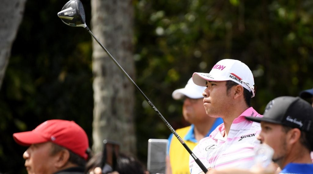 TaylorMade's SIM driver wasn't the only new addition to Matsuyama's bag.