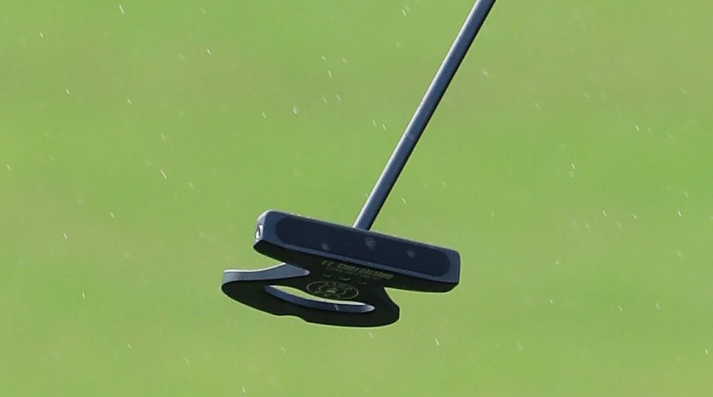 Jimmy Walker recently changed to a Directed Force 2.1 mallet.