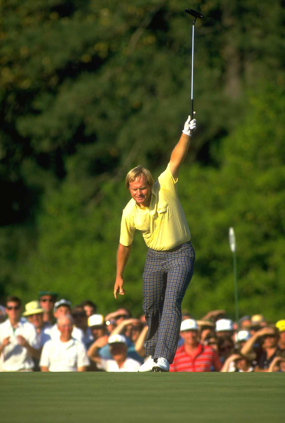 Jack Nicklaus' 1986 Masters victory is still believed to be among his greatest of his 18 majors.