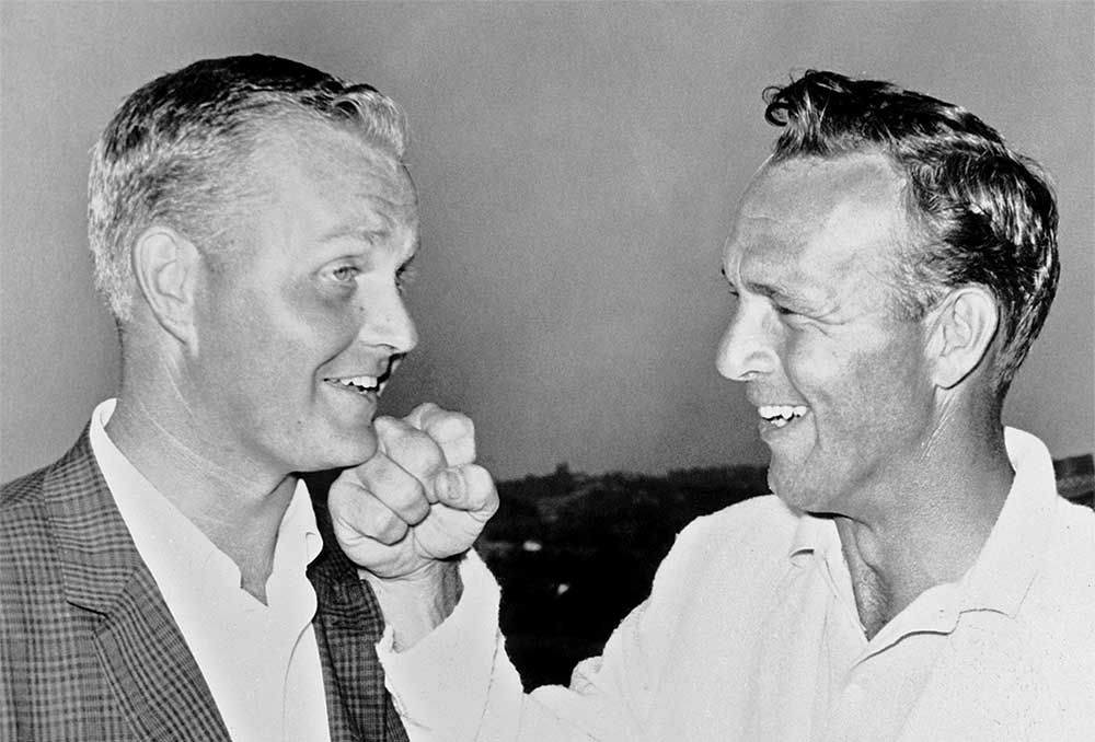 Jack Nicklaus took down Arnold Palmer at Oakmont to win his first major title.
