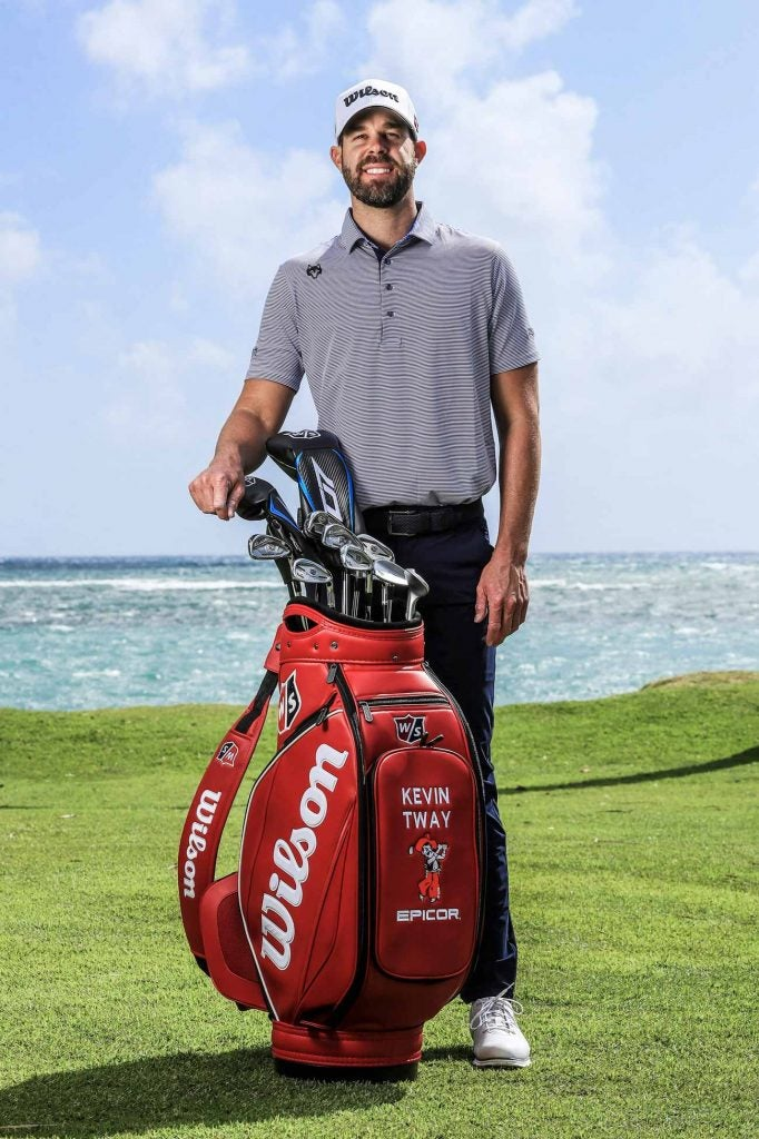 Kevin Tway has signed with Wilson ahead of the 2020 Sony Open in Hawaii.