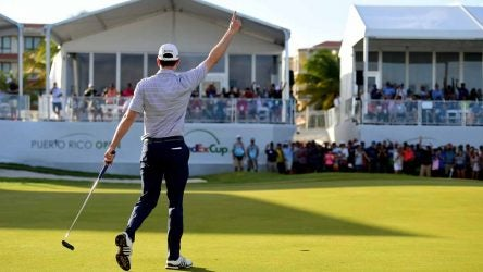 Martin Trainer won his first PGA Tour event at the 2019 Puerto Rico Open.