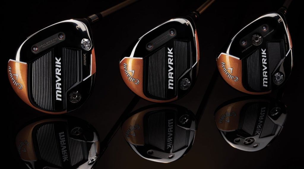 There are plenty of options to choose from when it comes to Callaway's Mavrik fairway woods.