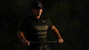 """Patrick Reed and Xander Schauffele each referred to getting """"gusted"""" late in Sunday's round."""