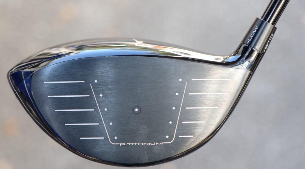 Mizuno's ST200 forged Beta Titanium face.