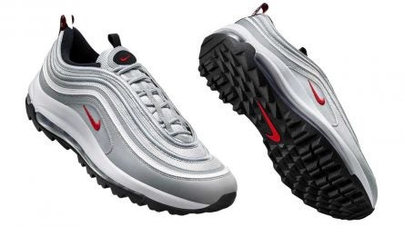 The Nike Air Max 97 G will be available in the silver colorway on Jan. 16.