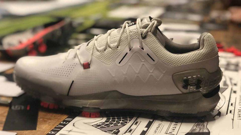 Under Armour golf shoe