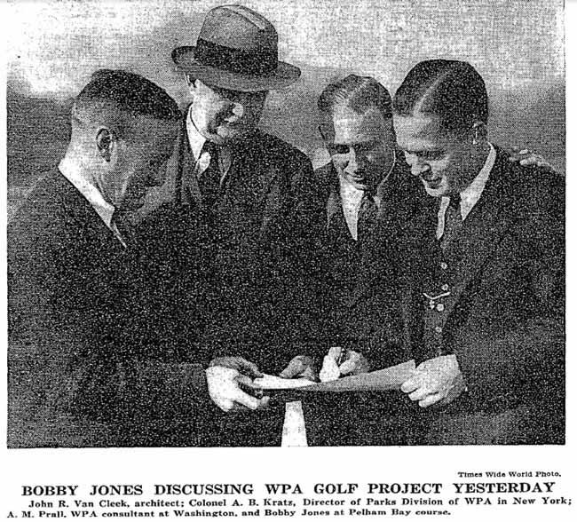 Bobby Jones played Split Rock Golf Course in 1936.