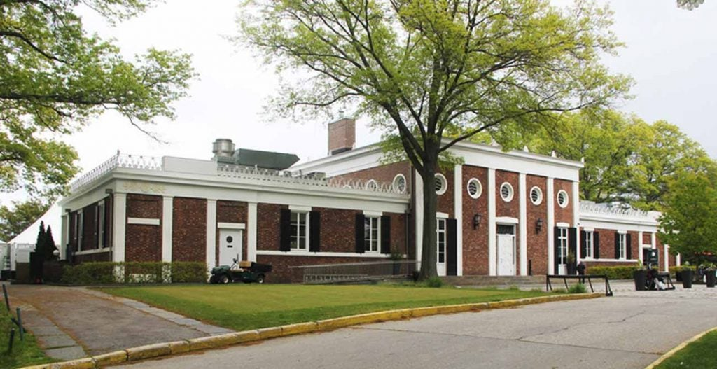 Pelham Bay and Split Rock share a New Deal-era Greek Revival clubhouse.