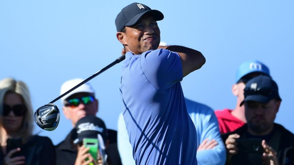 It's official: Tiger Woods is using TaylorMade SIM at Torrey Pines.