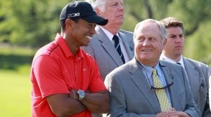 Jack Nicklaus said Tiger Woods benefits from having learned golf with older equipment.