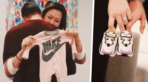 Baby West is on its way for Michelle Wie and her husband.