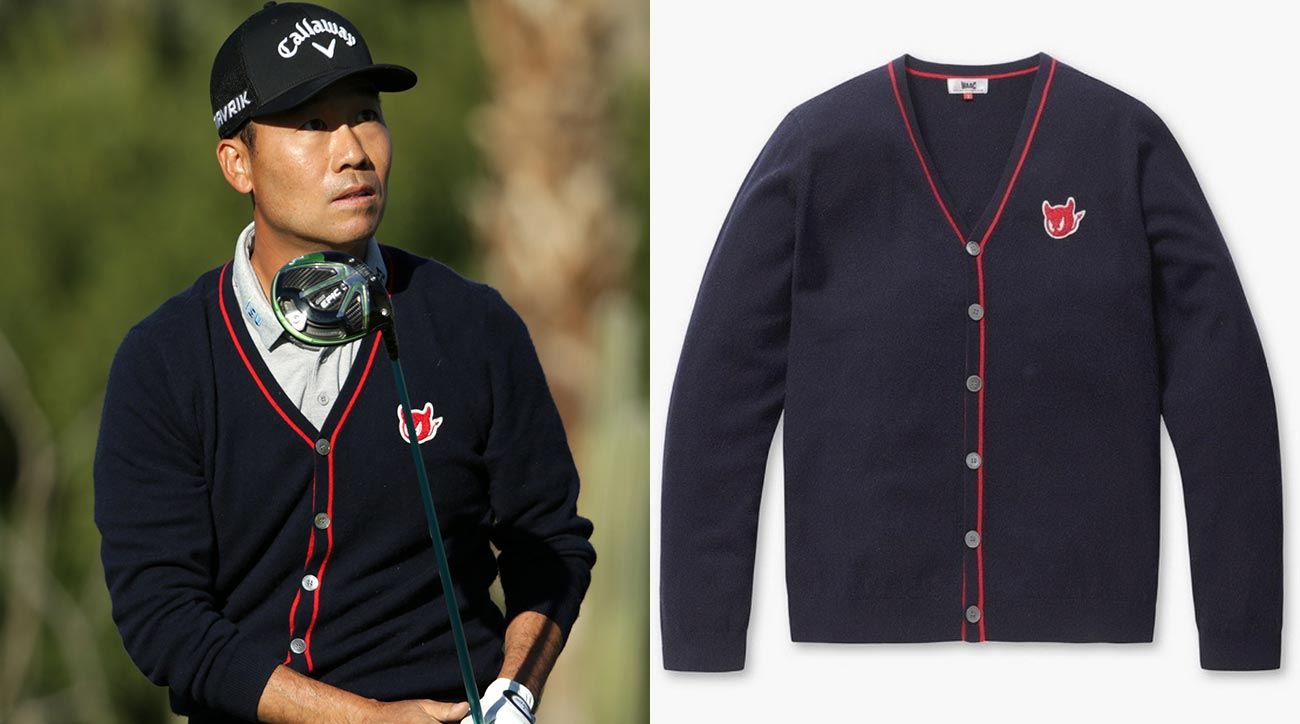 Obsession of the Week: Kevin Na's WAAC-ky cardigan