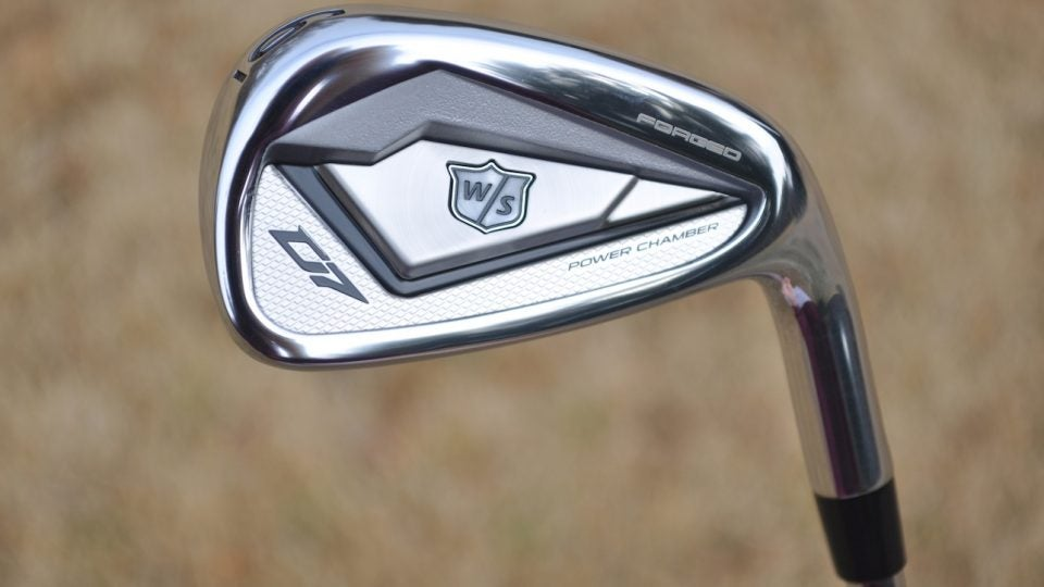 Wilson's D7 Forged irons are packed with forgiveness.