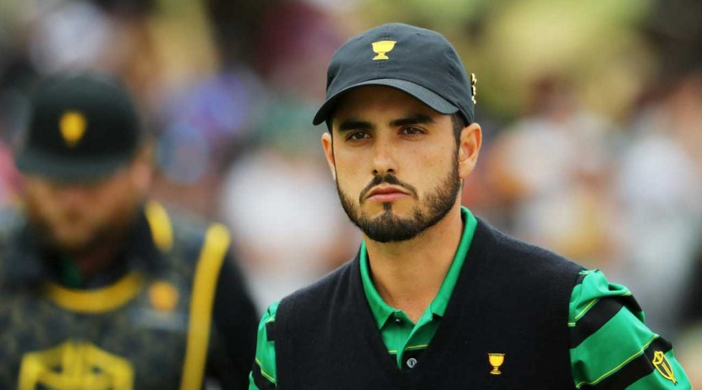 Abraham Ancer represented Mexico on the International team at the 2019 Presidents Cup.