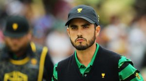 Abraham Ancer represented mexico on the International team at the 2019 Presidents Cup