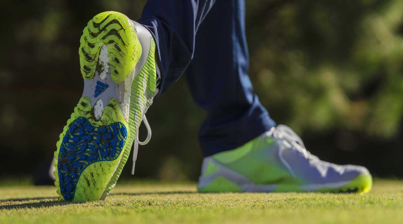 Adidas New Codechaos Golf Shoes Feature Innovative Spikeless Traction