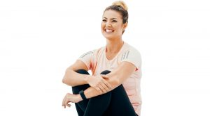 Yoga nixed Amanda Balionis' stress and helped her become a more confident golfer.