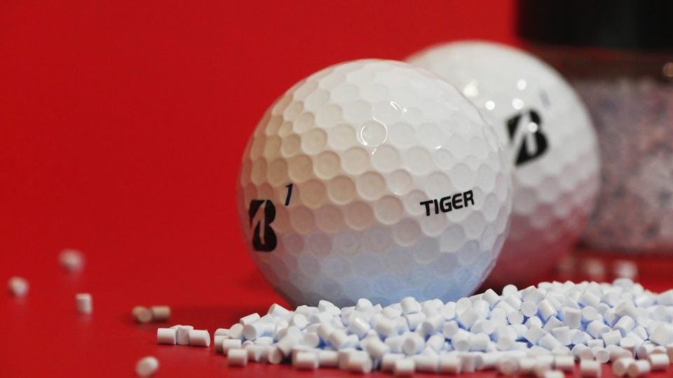 Tiger Woods played an integral role in the design of Bridgestone's new Tour B golf ball.